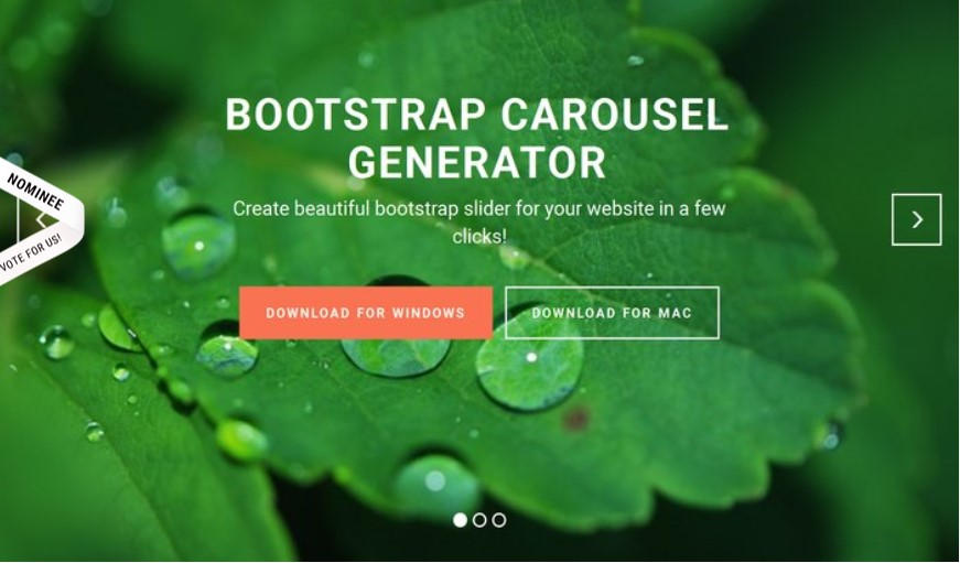 Bootstrap Carousel Video Slider