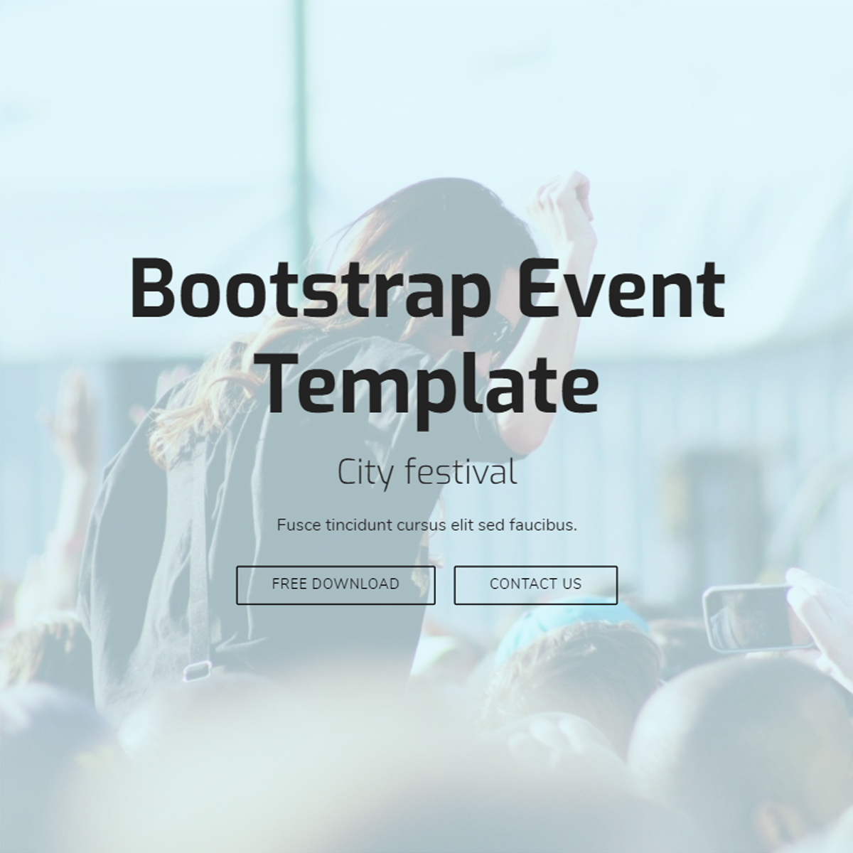 Free Download Bootstrap Event Templates