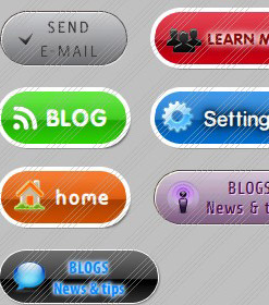 WinXP Buttons Maker Javascript Codings Menu And Buttons