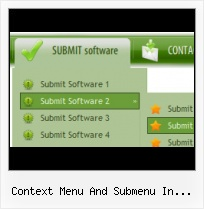 Java Dynamic Menus Transparent Buttons On Web Page