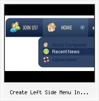 Create Left Sub Menu By Javascript Submit Buttons Styles