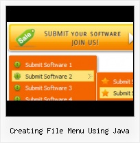 Swing Drop Down Menus In Java Web Graphics Menu Icon