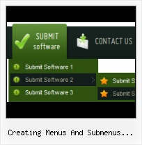 Sample Sub Menu In Java Wep Page Animations