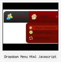 Creating Javascript Drop Down Menu Animated Submit Button