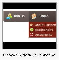 Template Menu Submenu Javascript Css Websites With Mouseover Buttons