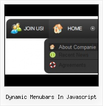 Javascript Dropdown Menu Object Buttons With Animation