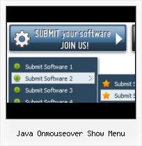 Java Onmouseover Show Menu  Javascript Menu Builder