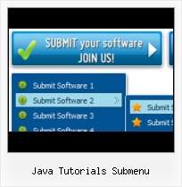 Very Easy Java Dropdown Menu Web Navigation