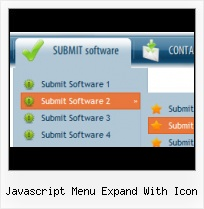 Sliding Animated Submenu Javascript Web Page Radio Buttons Help