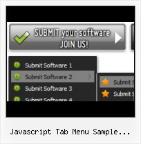 Java Script Submenu On Mouseover Examples Html Bar Menu