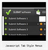 Submenu On Mouseover In Javascript Commercial Web Buttons