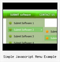 Simple Java Drop Down Menu Javascript Hover Menus