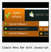 Submenus Using Javascript Code Backbutton In Web