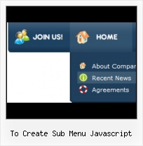 Javascript Drop Down Menu Over Link Animated Navigation Button Script