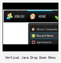 Javascript Drop Down Layer Menu Example Website Buttons