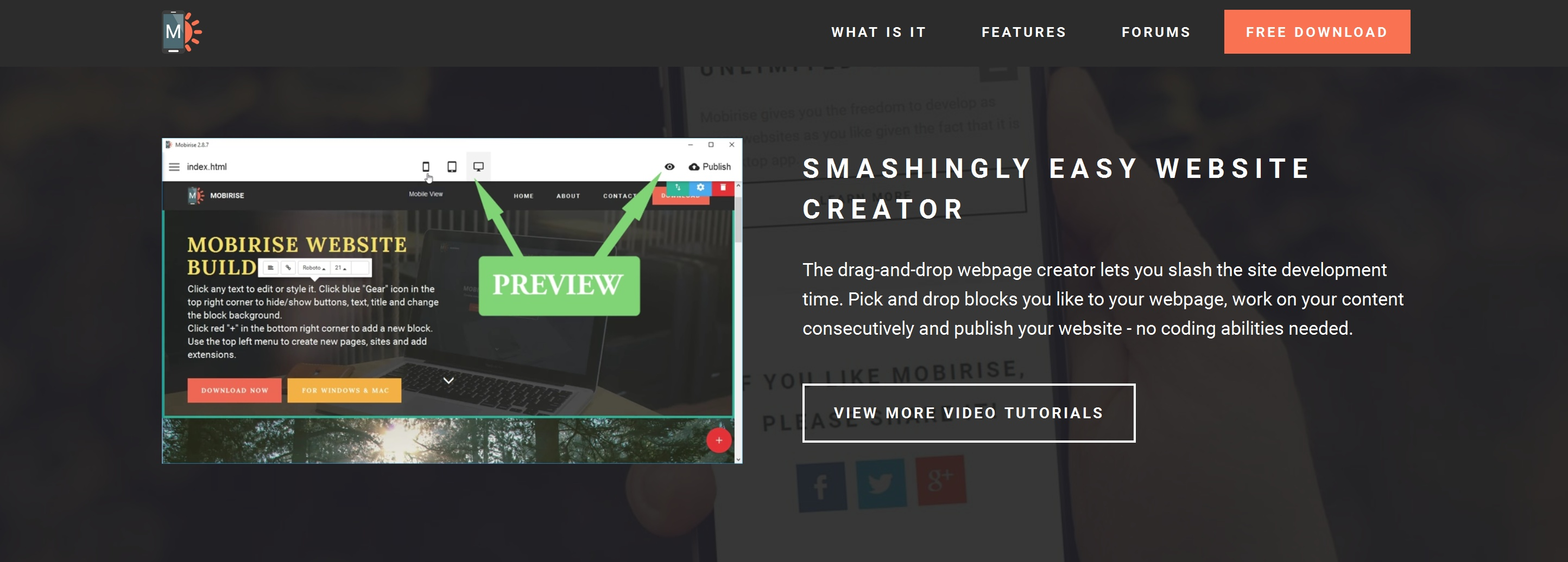 Simple Bootstrap Web Page  Builder
