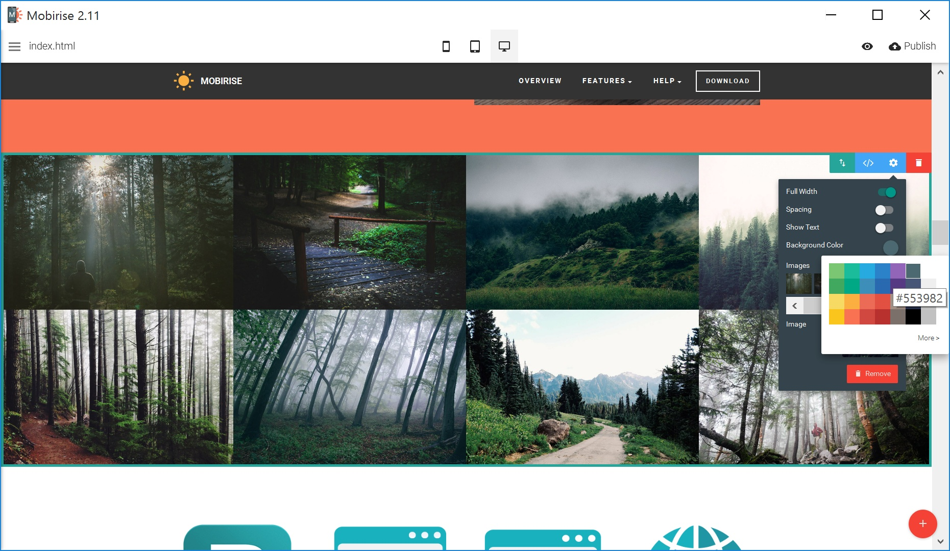 Free Responsive Web Page  Builder Software