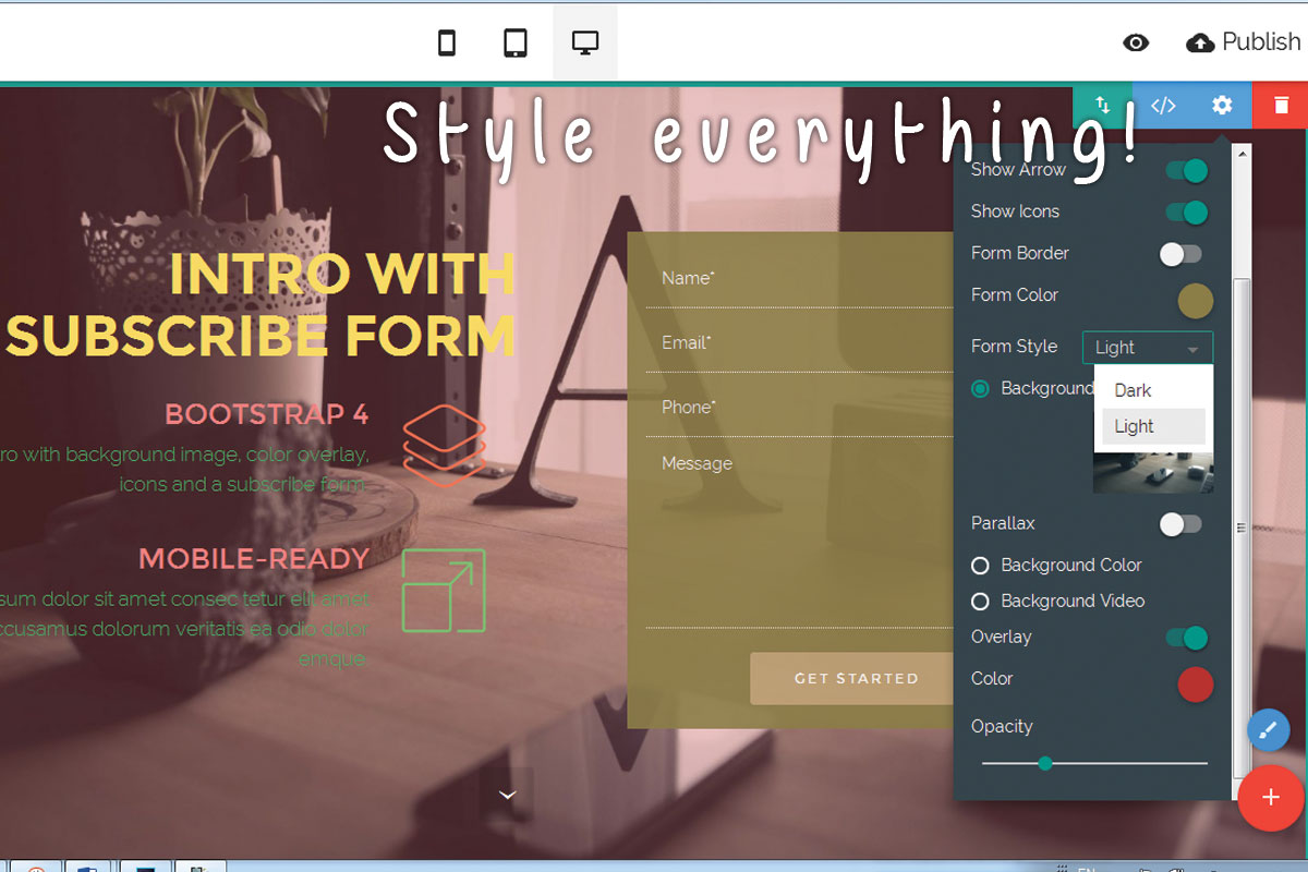 HTML Responsive Site Builder Review