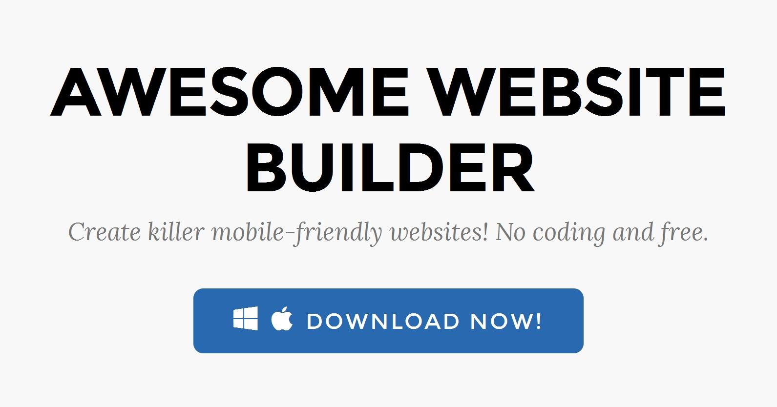 WYSIWYG Web Design Software