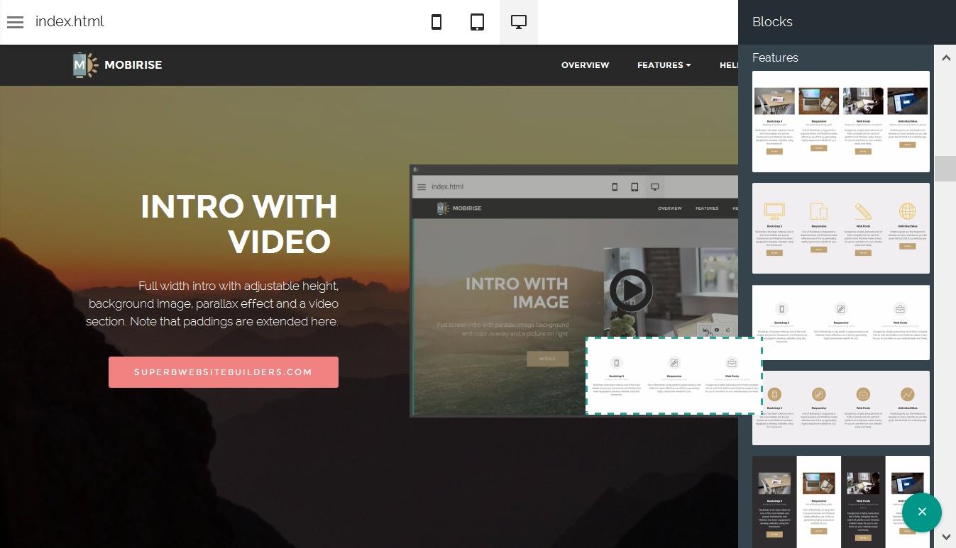 Bootstrap Web Generator
