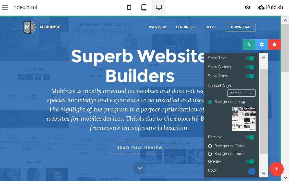 Bootstrap Website Editor