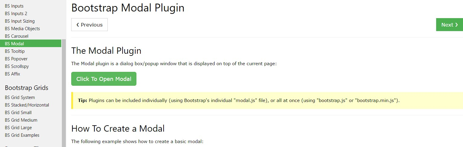 Bootstrap Modal Popup:  article  article