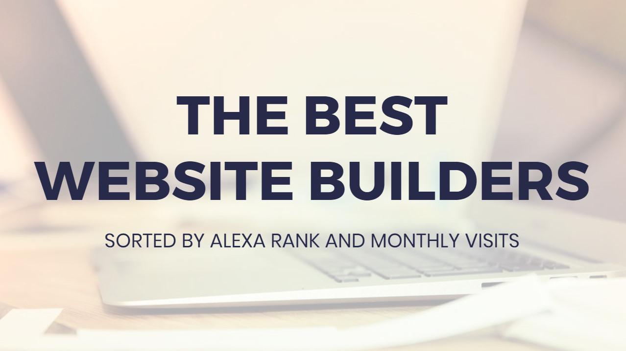 Most suitable  Site Builders