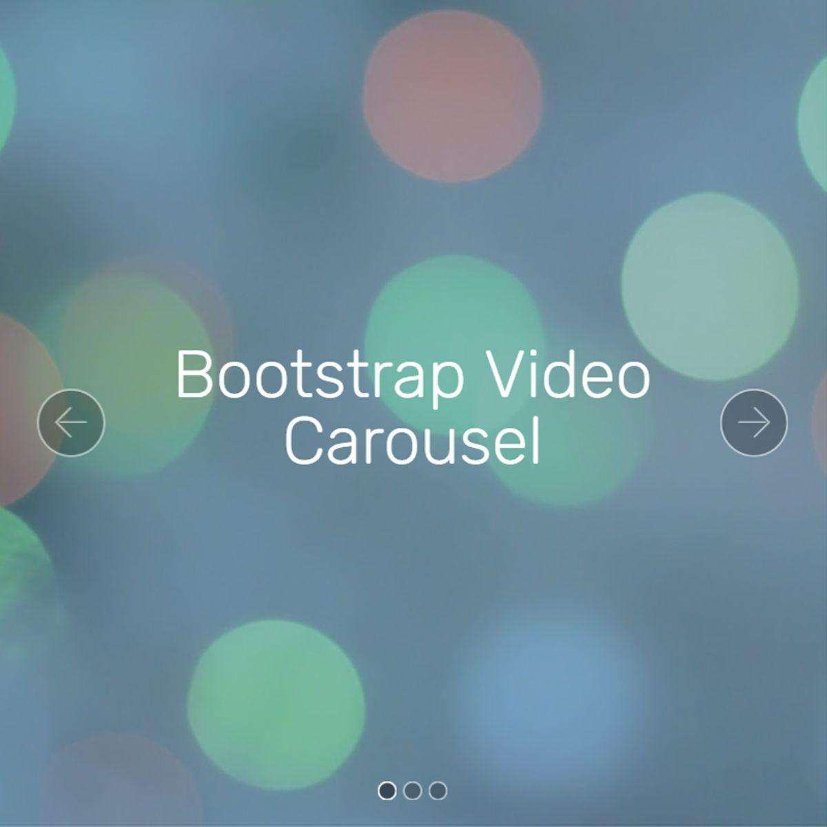 Free Bootstrap Image Slider