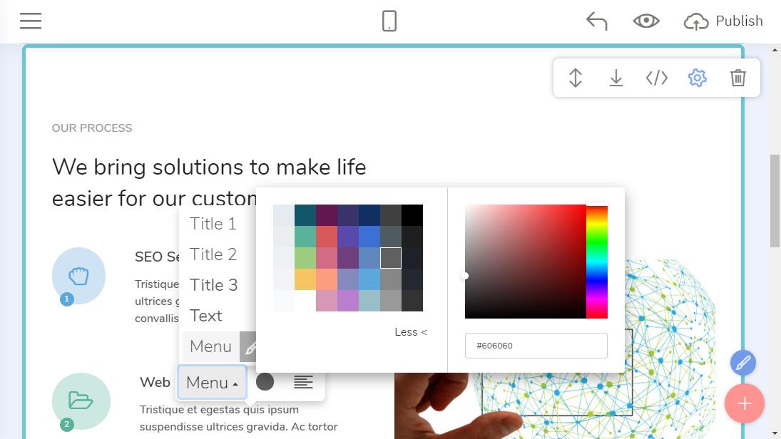 Open Source Website Maker