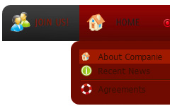 multi layer drop down menu javascript Web Graphic Nav Menu