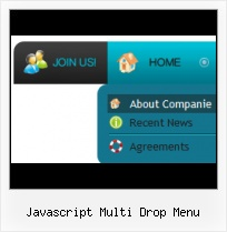 Dynamic Drop Down Menu Javascript Photoshop Menu Buttons Website